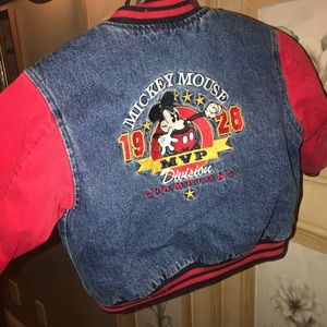 Disney World Denim Jean Jacket Vintage